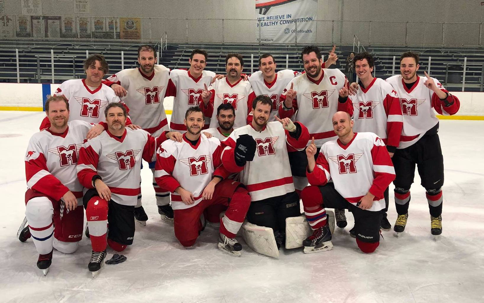 We won the CAHL D-East Championship!